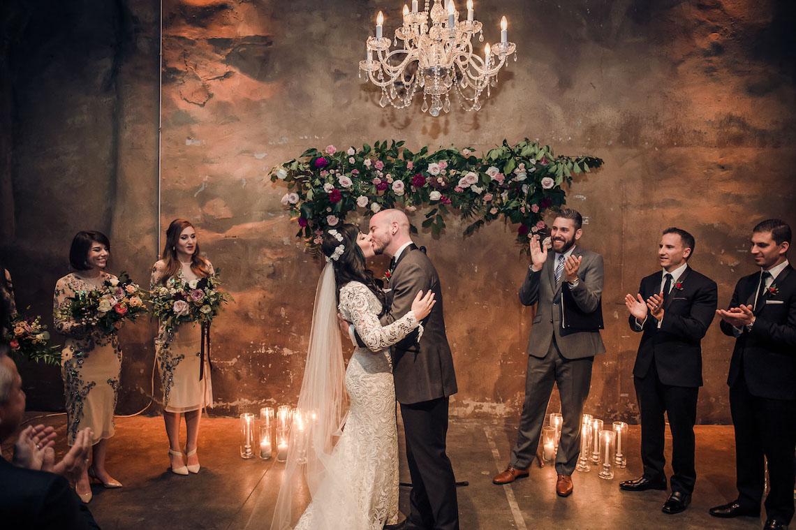 Edgy & Romantic Distillery Wedding | AGI Studio 13