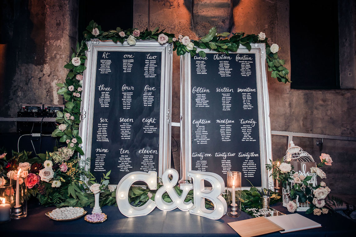 Edgy & Romantic Distillery Wedding | AGI Studio 14