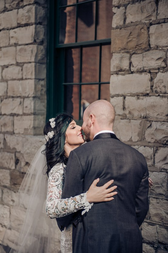 Edgy & Romantic Distillery Wedding | AGI Studio 21