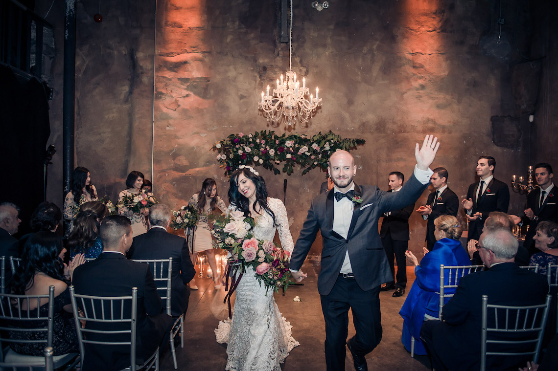Edgy & Romantic Distillery Wedding | AGI Studio 6