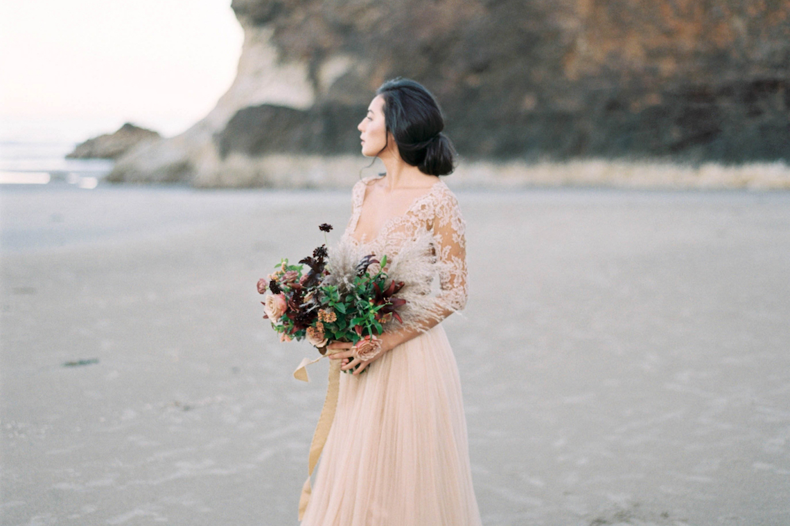 Ethereal Pacific Northwest Beachy Wedding Inspiration | Jessica Lynn Photography 1