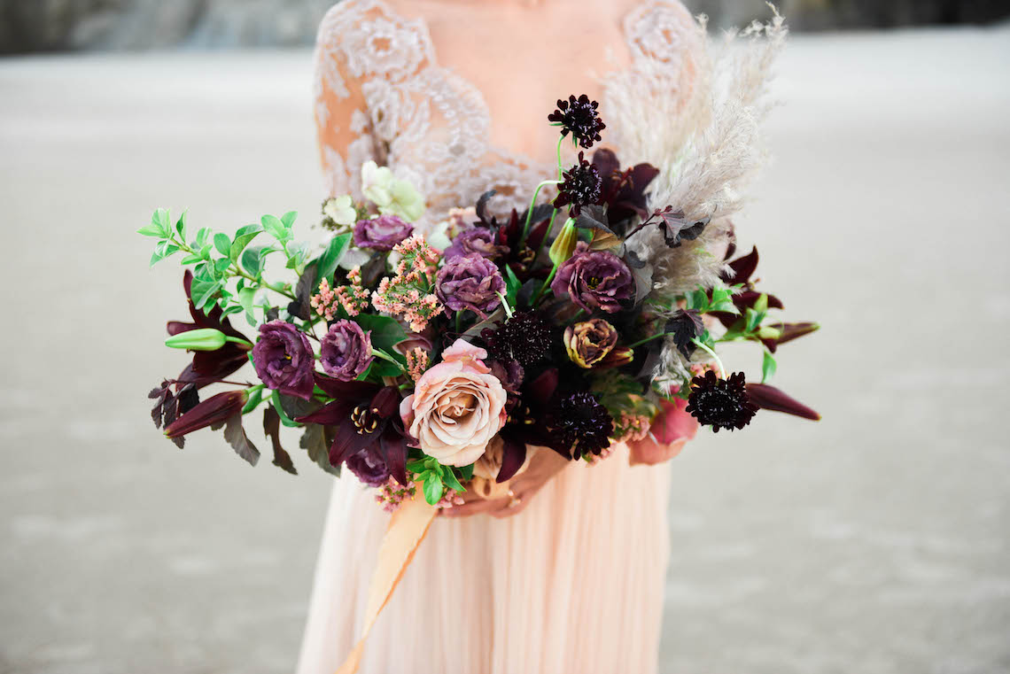 Ethereal Pacific Northwest Beachy Wedding Inspiration | Jessica Lynn Photography 14
