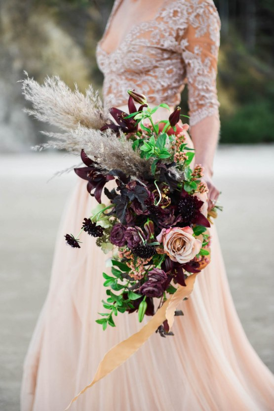 Ethereal Pacific Northwest Beachy Wedding Inspiration | Jessica Lynn Photography 22