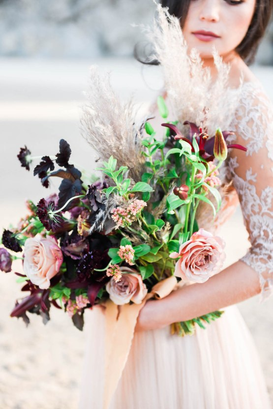 Ethereal Pacific Northwest Beachy Wedding Inspiration | Jessica Lynn Photography 25