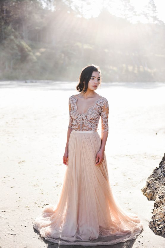Ethereal Pacific Northwest Beachy Wedding Inspiration | Jessica Lynn Photography 36
