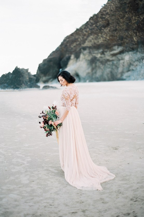 Ethereal Pacific Northwest Beachy Wedding Inspiration | Jessica Lynn Photography 4