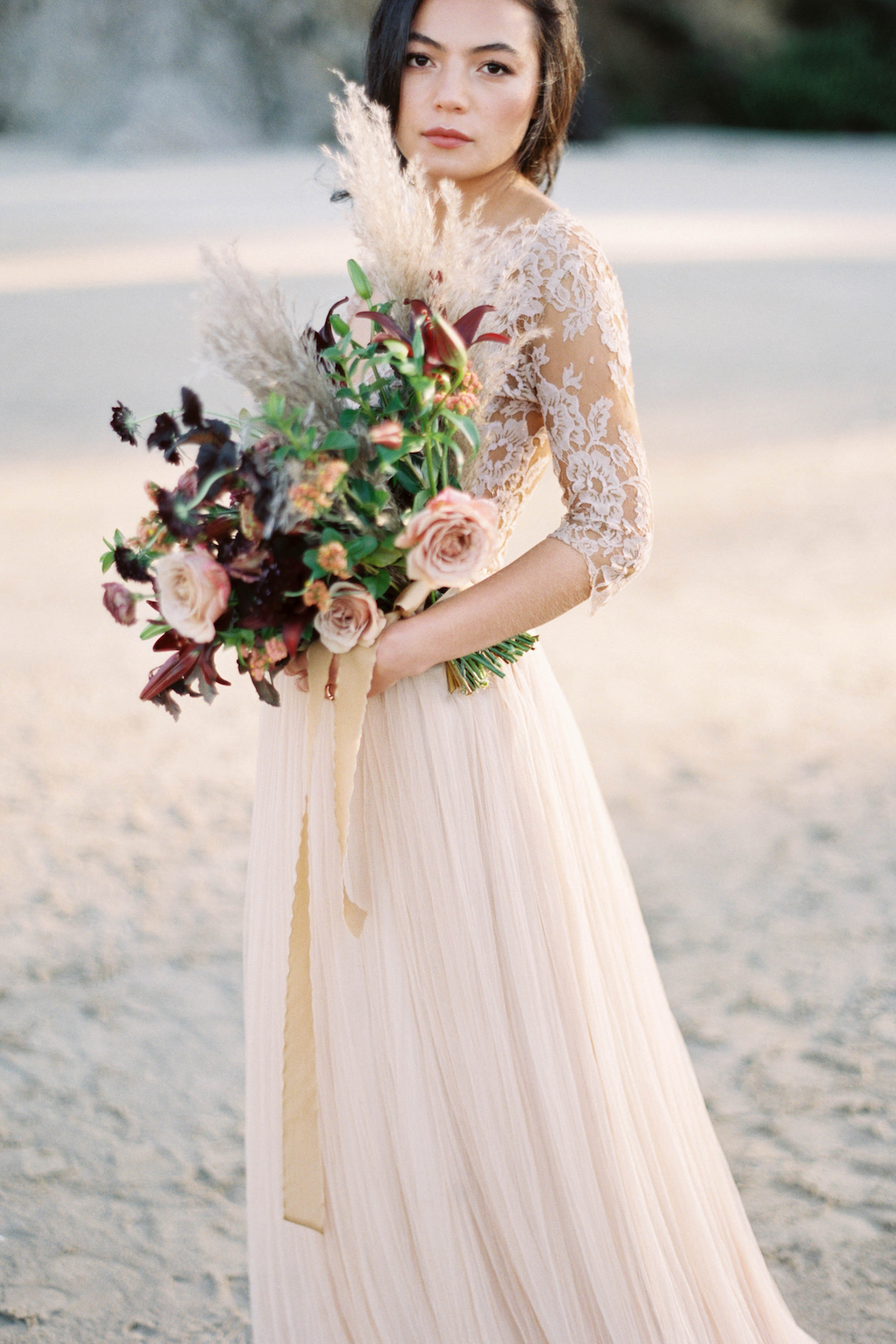 Ethereal Pacific Northwest Beachy Wedding Inspiration | Jessica Lynn Photography 7
