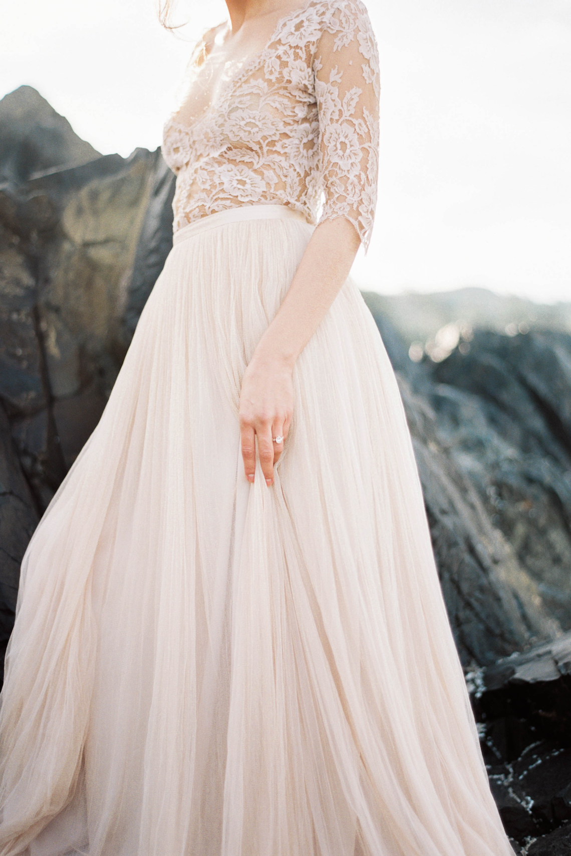 Ethereal Pacific Northwest Beachy Wedding Inspiration | Jessica Lynn Photography 9