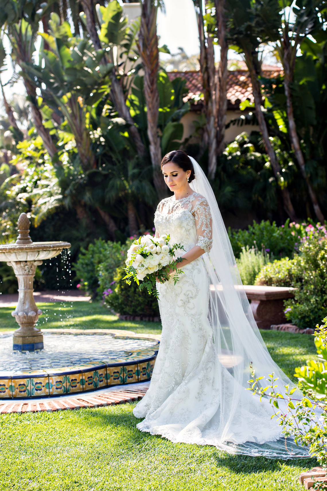 Glamorous Santa Barbara Wedding (With The Sweetest Flower Girl!) | Laurie Bailey Photo 30