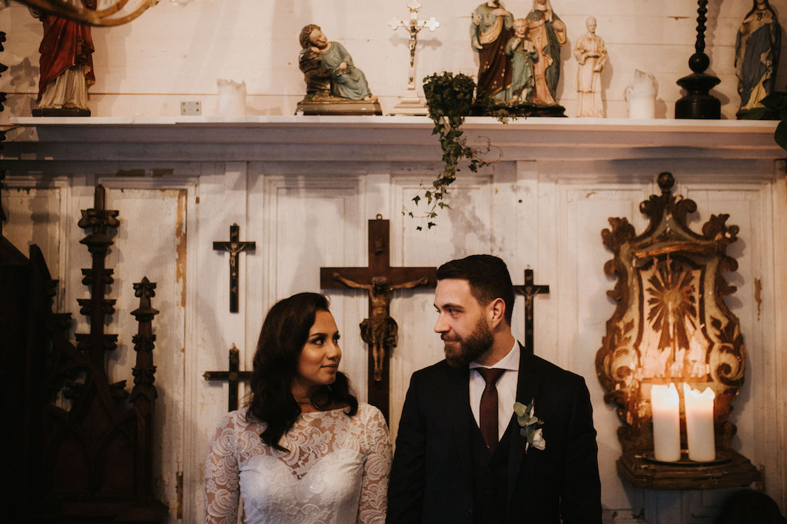 Intimate, Romantic, Vintage Chapel Wedding Film In Germany | Iluminen Photography 6