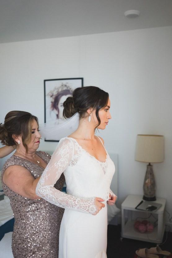 Modern Hip Taco Wedding In A Funky Gallery Venue | Claire Eliza 1