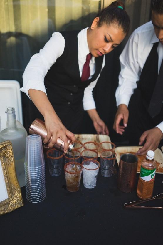 Modern Hip Taco Wedding In A Funky Gallery Venue | Claire Eliza 36