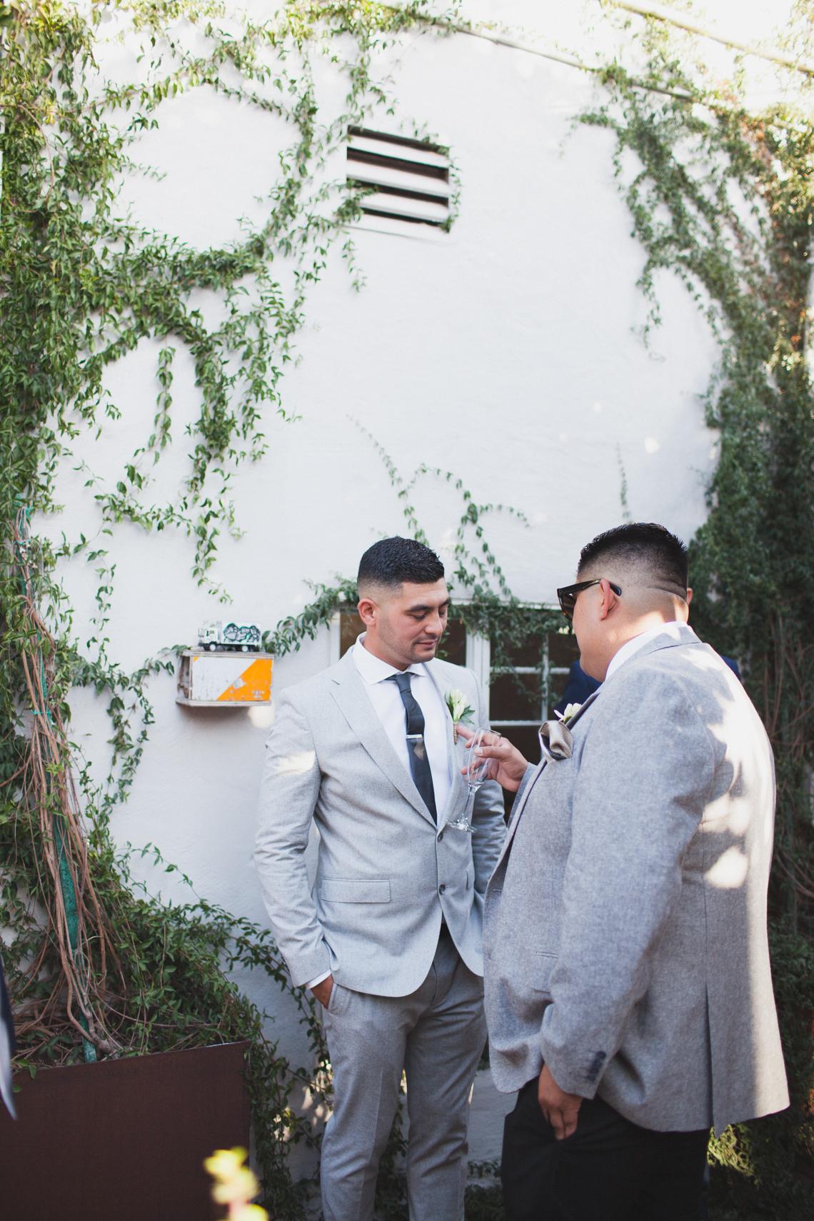 Modern Hip Taco Wedding In A Funky Gallery Venue | Claire Eliza 4