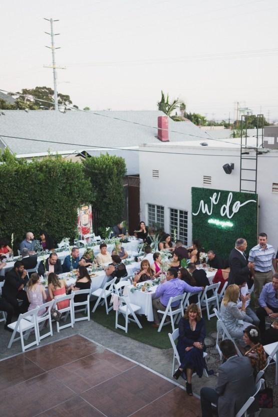 Modern Hip Taco Wedding In A Funky Gallery Venue | Claire Eliza 44