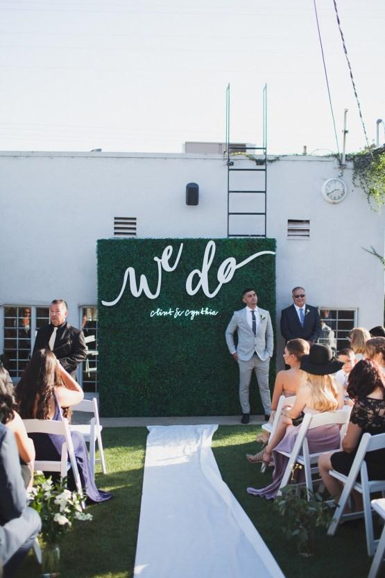 Modern Hip Taco Wedding In A Funky Gallery Venue | Claire Eliza 6