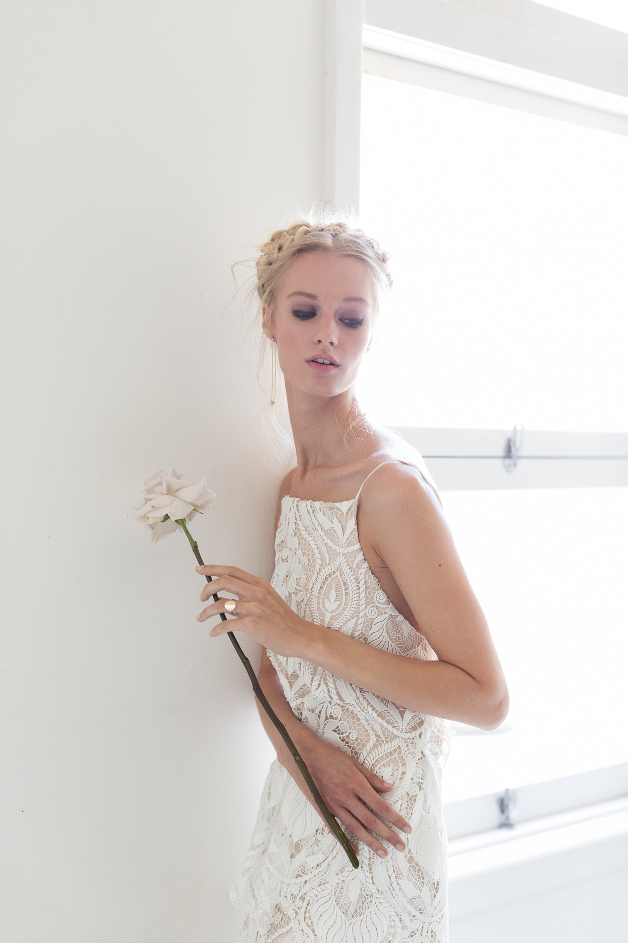 Modern Silk Gowns & Floral Wall Inspiration For The Hip Bride | Anastasia Fua elliftheartist 49