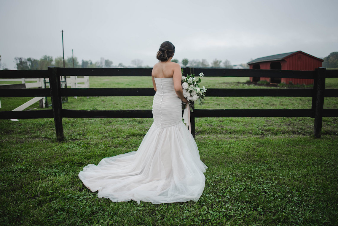 Romance In The Rain; Rustic Barn Wedding Ideas With Dramatic Florals | Flor de Casa Designs 21
