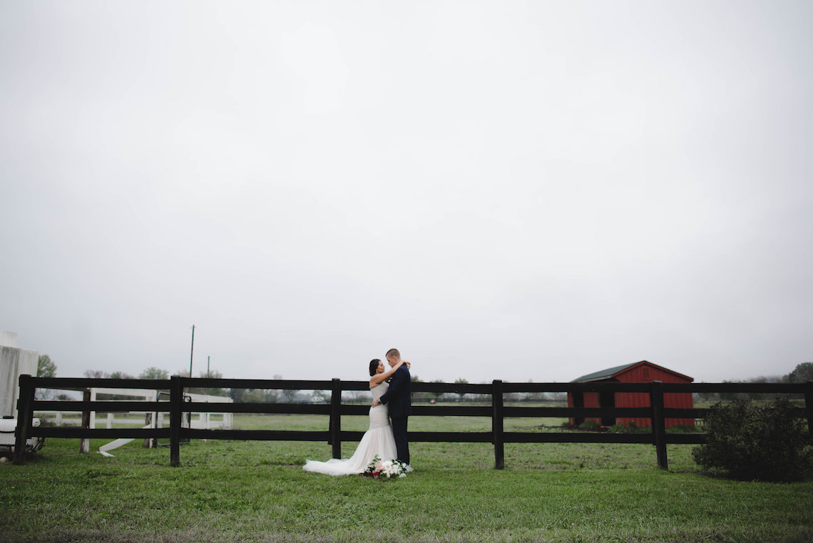 Romance In The Rain; Rustic Barn Wedding Ideas With Dramatic Florals | Flor de Casa Designs 29