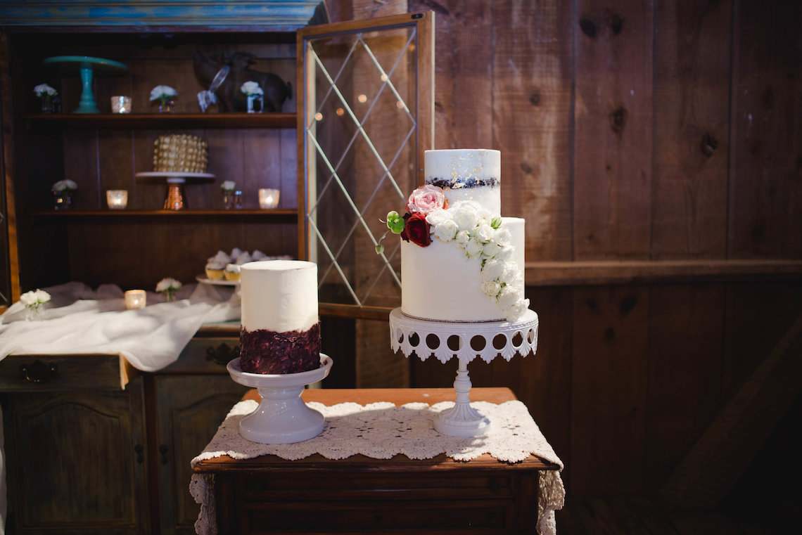 Romance In The Rain; Rustic Barn Wedding Ideas With Dramatic Florals | Flor de Casa Designs 30