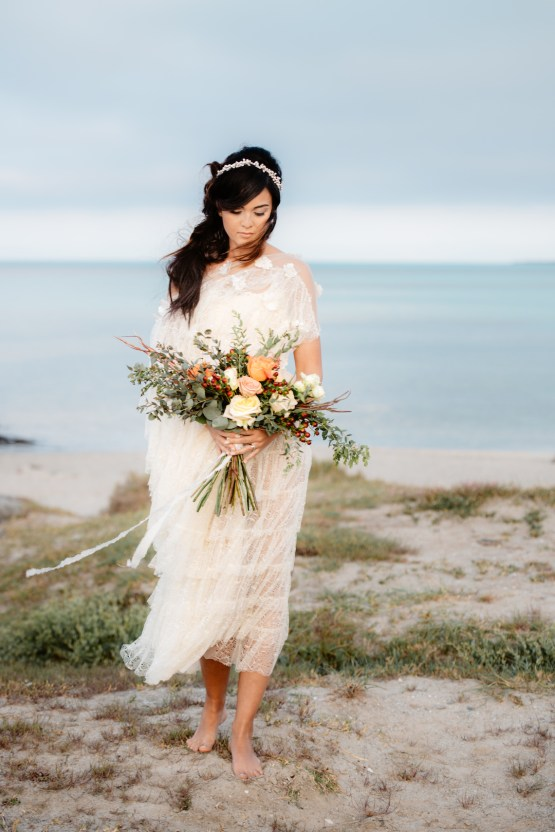 Shipwrecked; Seaside Elopement Inspiration From Sardinia | Valeria Mameli 19