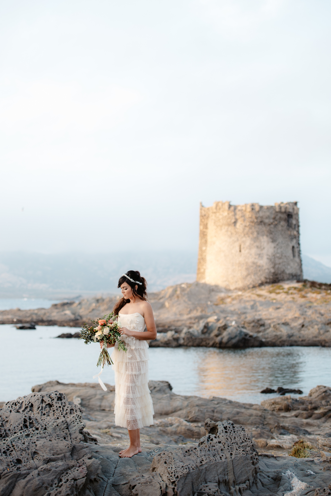 Shipwrecked; Seaside Elopement Inspiration From Sardinia | Valeria Mameli 25