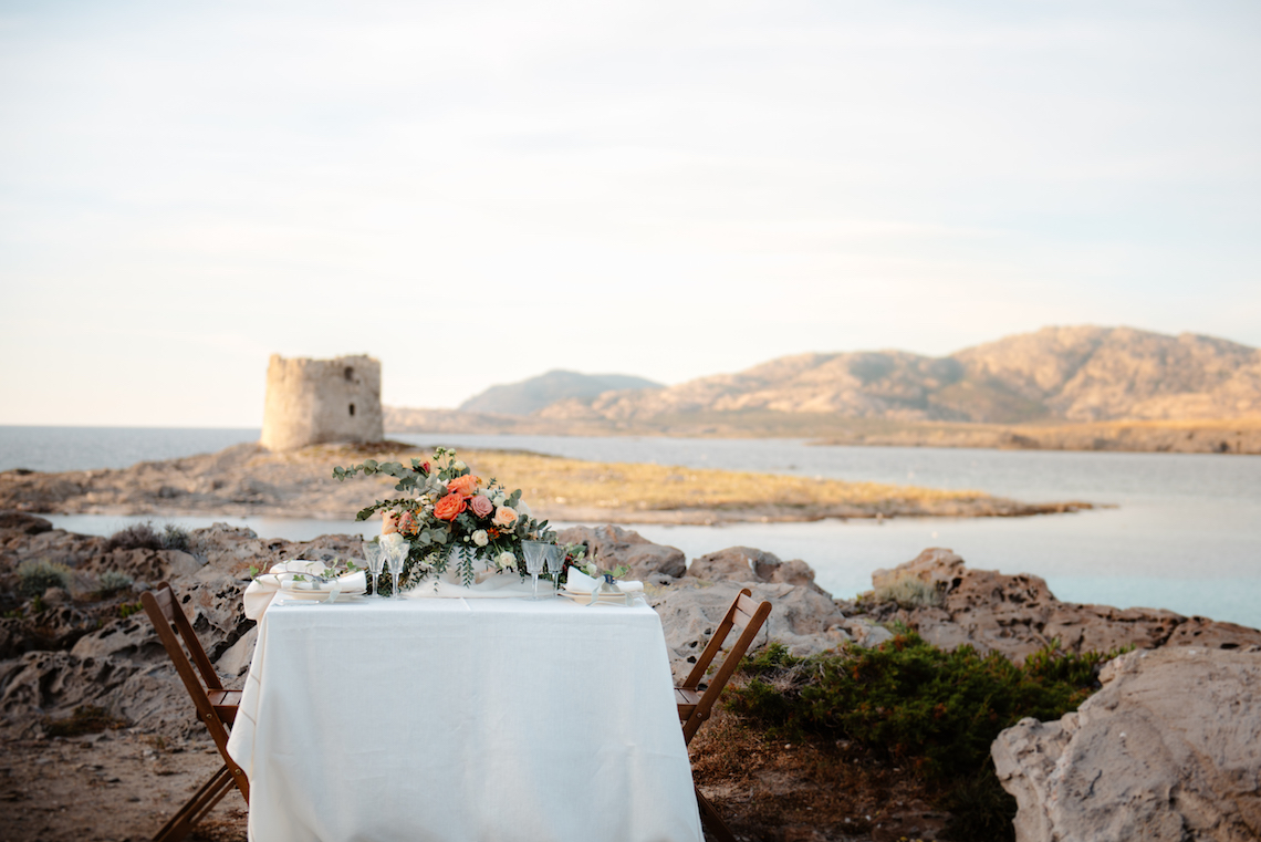Shipwrecked; Seaside Elopement Inspiration From Sardinia | Valeria Mameli 32