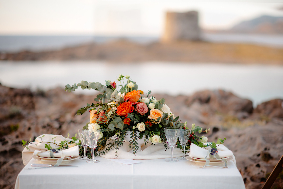 Shipwrecked; Seaside Elopement Inspiration From Sardinia | Valeria Mameli 33