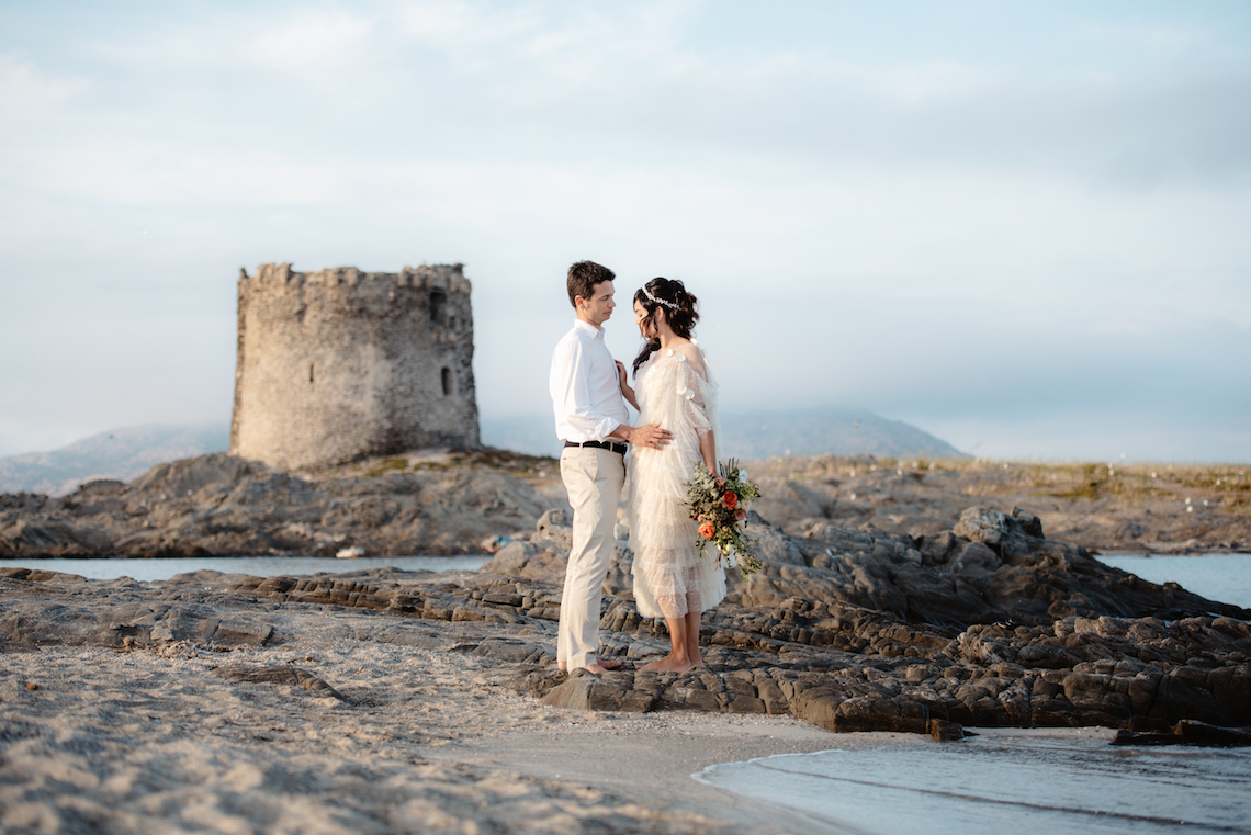 Shipwrecked; Seaside Elopement Inspiration From Sardinia | Valeria Mameli 37