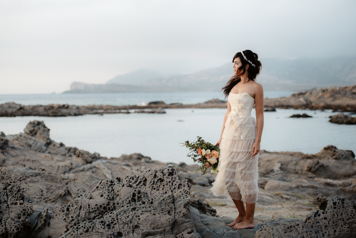 Shipwrecked; Seaside Elopement Inspiration From Sardinia | Valeria Mameli 39