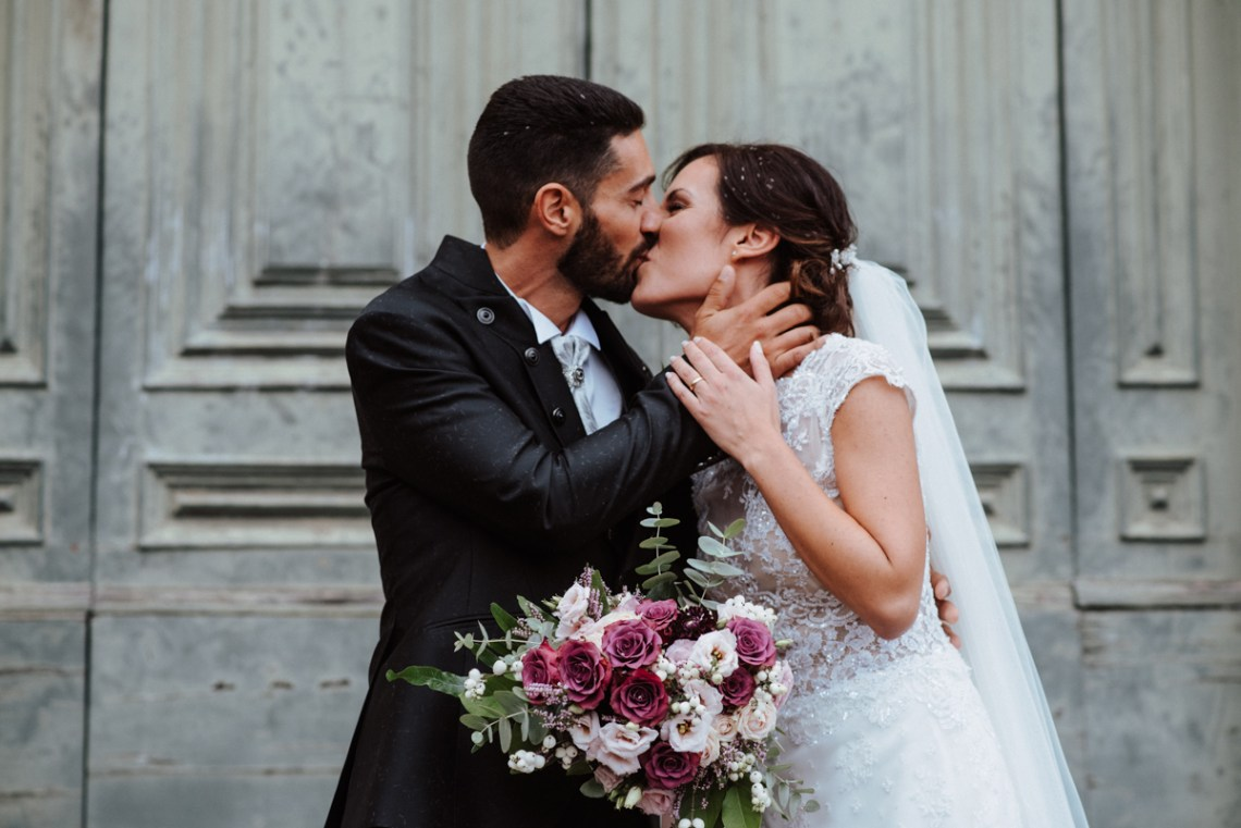 Simple & Elegant Cathedral Wedding in Italy | Silvia Galora 7