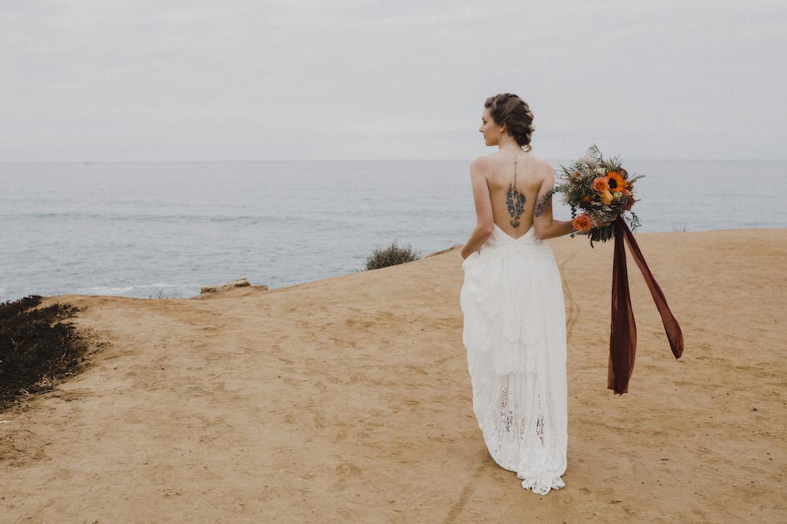 Southwestern Styled Beachy Wedding Ideas | Flourish | Madeline Barr Photo 2