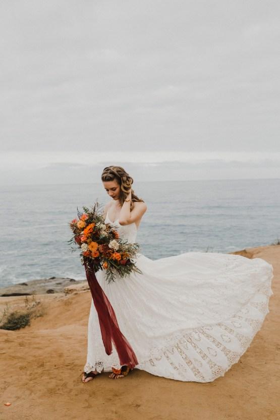 Southwestern Styled Beachy Wedding Ideas | Flourish | Madeline Barr Photo 34