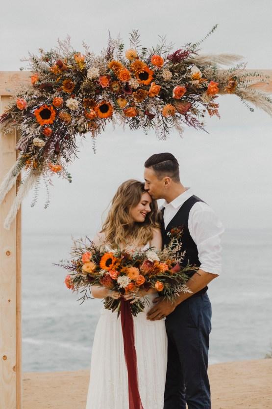 Southwestern Styled Beachy Wedding Ideas | Flourish | Madeline Barr Photo 41