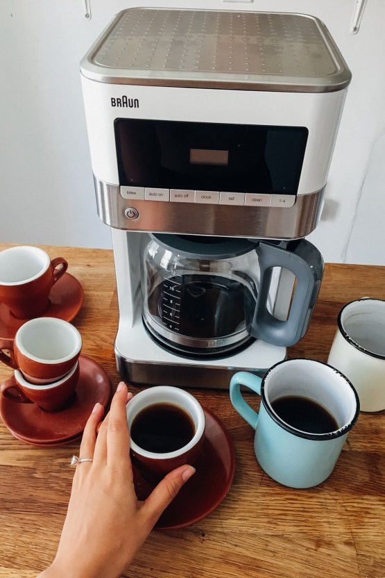 7 Tips to Personalize Your Dream Wedding Registry | Braun BrewSense | Claire Eliza 7