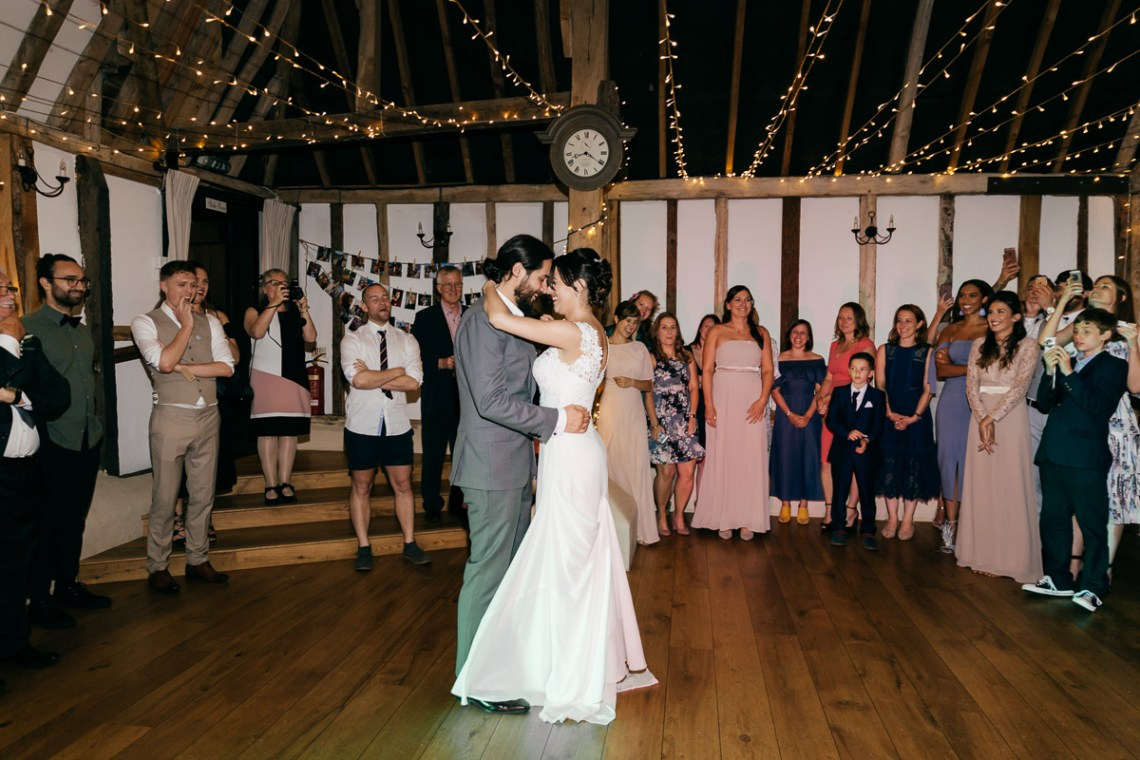 Charming & Personal Clock Barn Wedding | Amber Marie Photography 19