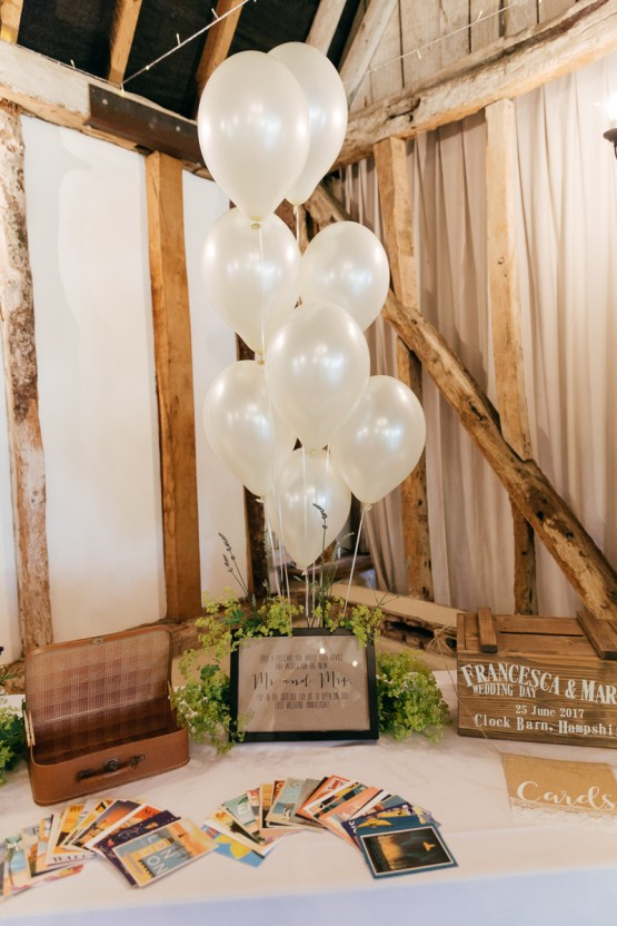 Charming & Personal Clock Barn Wedding | Amber Marie Photography 22