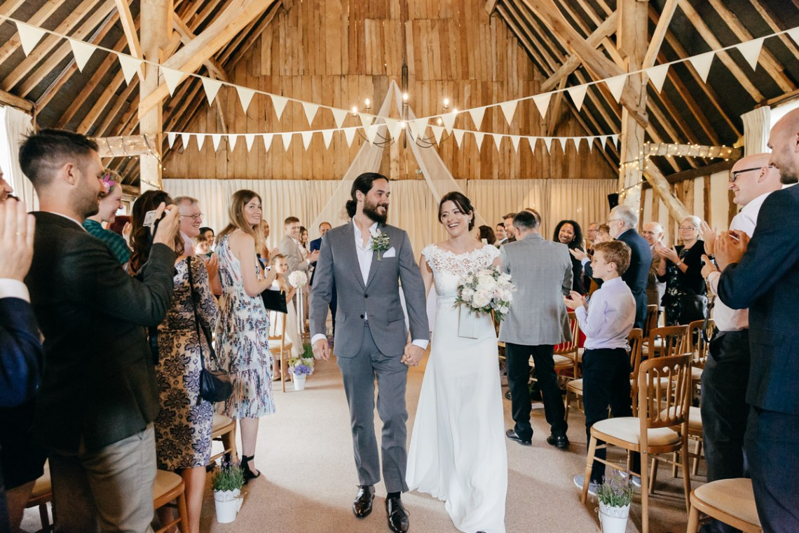 Charming & Personal Clock Barn Wedding | Amber Marie Photography 9
