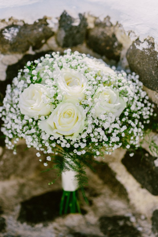Classy Santorini Destination Wedding (With Amazing Caldera Views!) | Elias Kordelakos 12