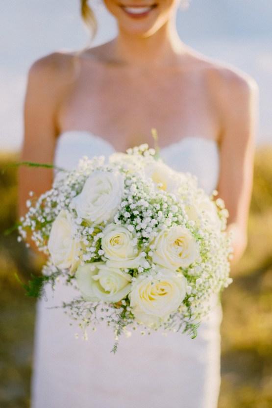 Classy Santorini Destination Wedding (With Amazing Caldera Views!) | Elias Kordelakos 22