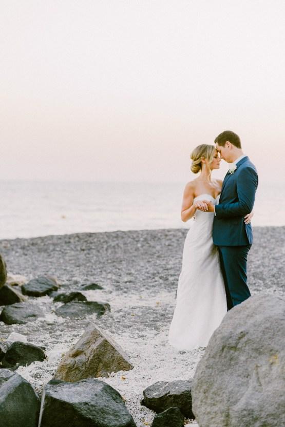 Classy Santorini Destination Wedding (With Amazing Caldera Views!) | Elias Kordelakos 28