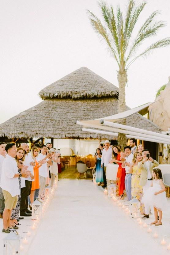 Classy Santorini Destination Wedding (With Amazing Caldera Views!) | Elias Kordelakos 32