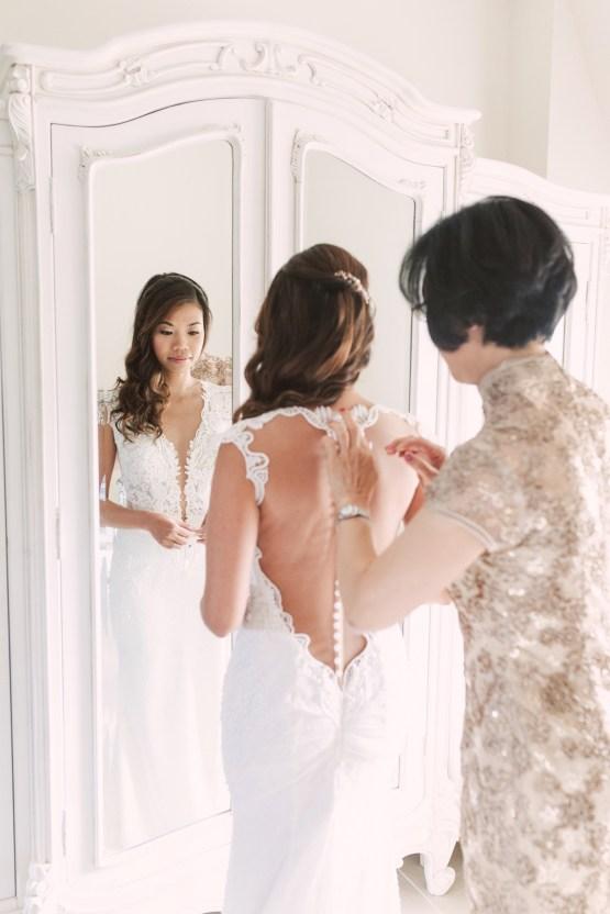 Glamorous French Chateau Wedding | Christina Sarah Photography 11