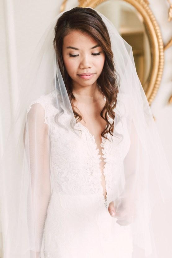 Glamorous French Chateau Wedding | Christina Sarah Photography 15