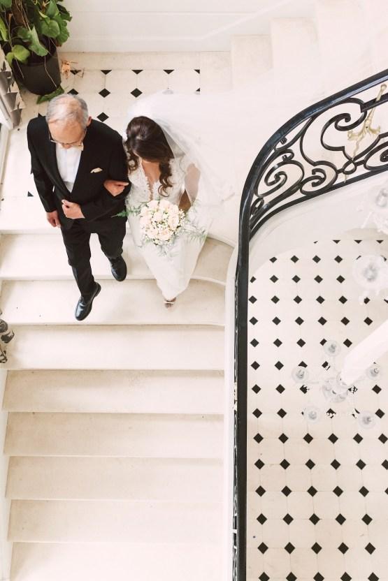 Glamorous French Chateau Wedding | Christina Sarah Photography 16