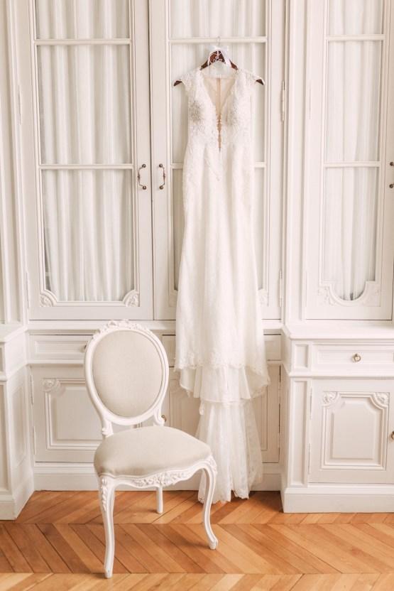 Glamorous French Chateau Wedding | Christina Sarah Photography 9