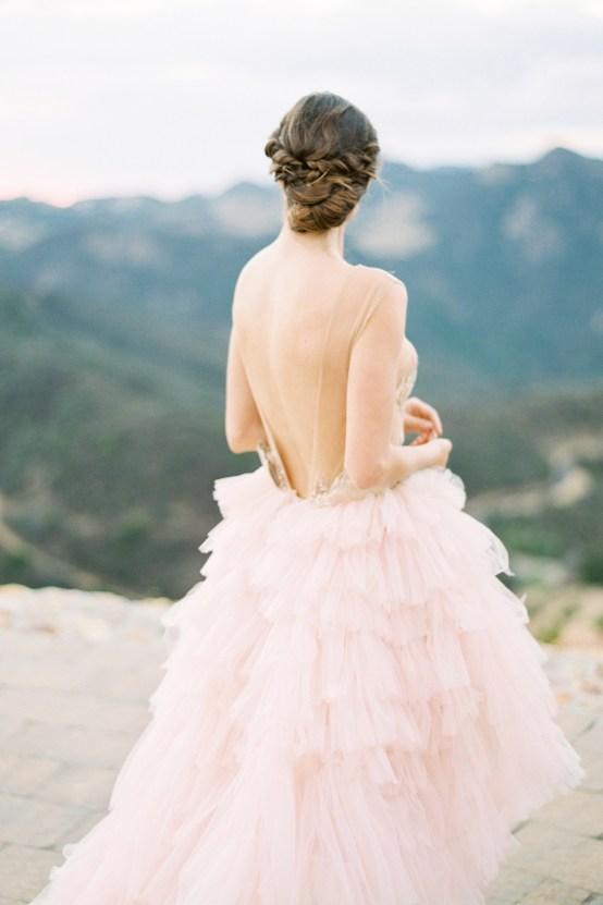 Malibu Wedding Inspiration With A Ruffled Pink Dress | Pura Vida Photography 36