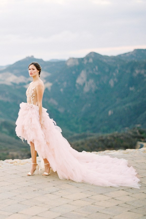 Malibu Wedding Inspiration With A Ruffled Pink Dress | Pura Vida Photography 38