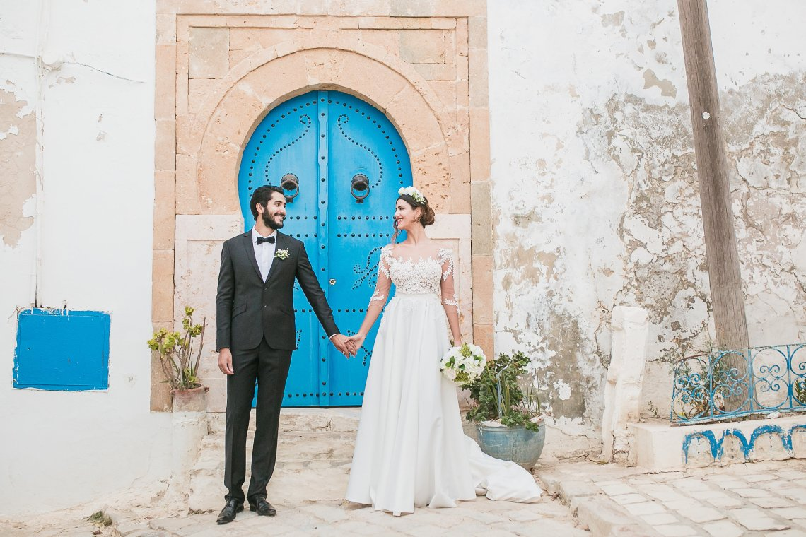 Mediterranean Meets Africa; Colorful Tunisian Wedding Inspiration | Ness Photography 11
