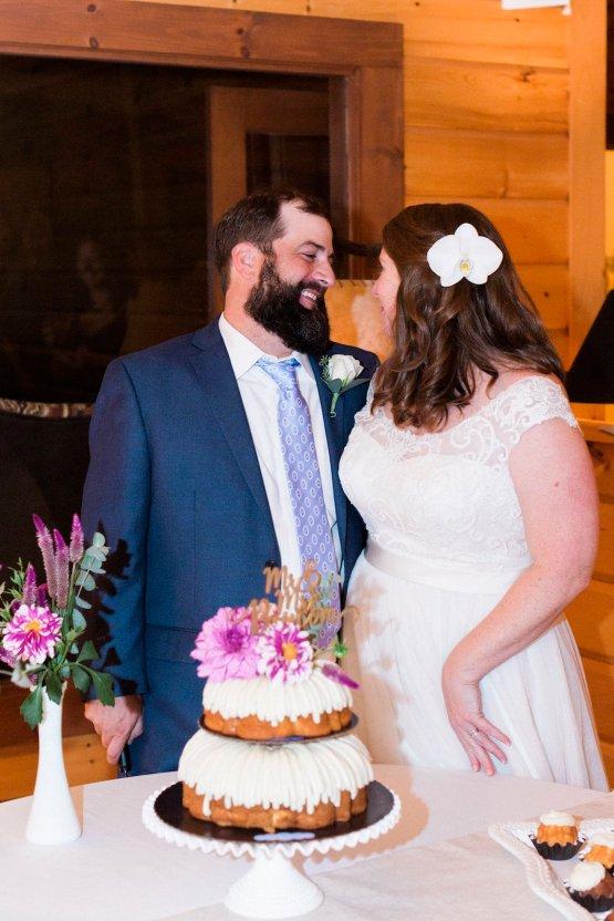 Rustic Carolina Mountain Lodge Wedding | Common Dove Photography 26