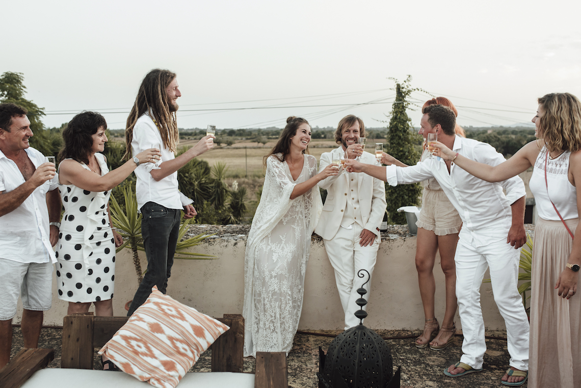 Wild, Spanish Wedding Inspiration For Bohemian Brides | IDO Events | Kevin Klein 10